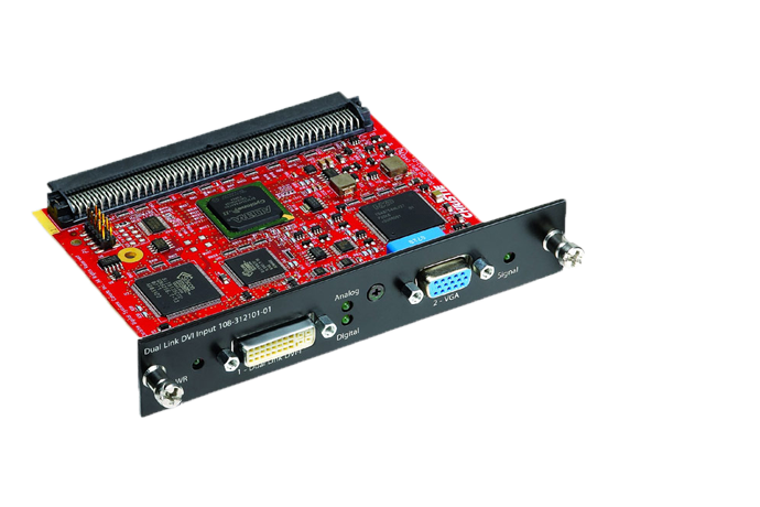 Dual Link DVI Input Card | Christie - Audio Visual Solutions
