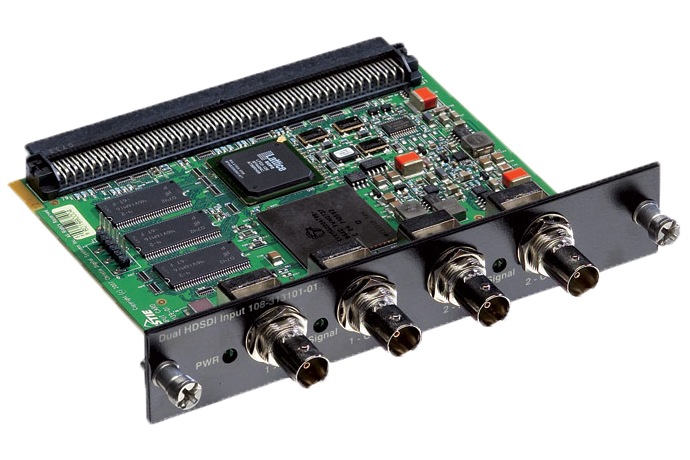 Dual SD/HD SDI Input Card