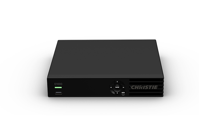 Christie Link E1000 video wall controller