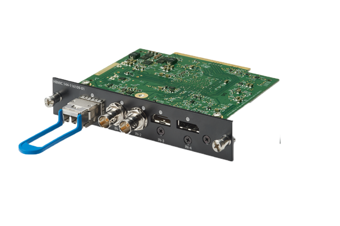 High Bandwidth Multi-Input Card (HBMIC)