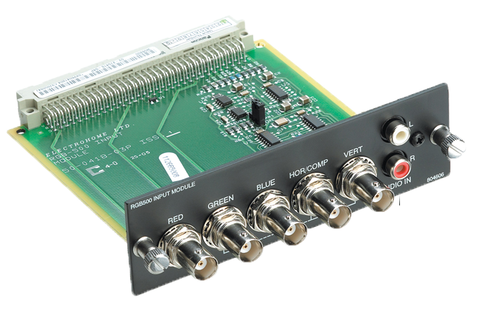 RGB 500 Input Module | Christie - Audio Visual Solutions