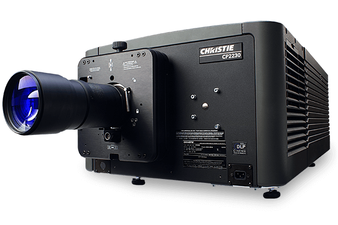 Christie CP2230 DLP Digital Cinema Projector | Christie - Visual Display Solutions