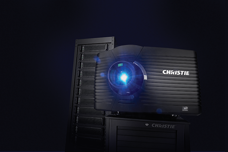 Christie D4KLH60 high frame rate 3DLP 4K RGB laser projector head | 146-003104-XX