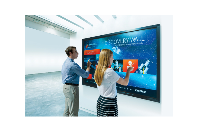 "Christie FHQ552-T 55"" UHD interactive LCD flat panel 
