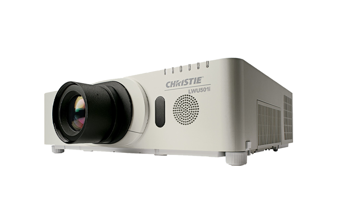Christie LWU501i 3LCD projector | Christie - Visual Display Solutions