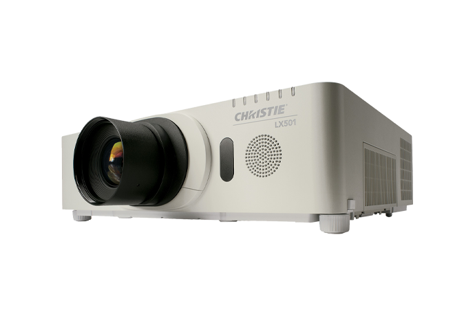 Christie LX501 3LCD digital projector | Christie - Visual Display Solutions
