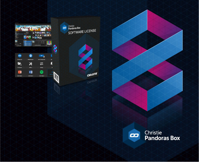 Introducing Christie Pandoras Box Version 8: Simpler, more powerful. One software license to do it all.
