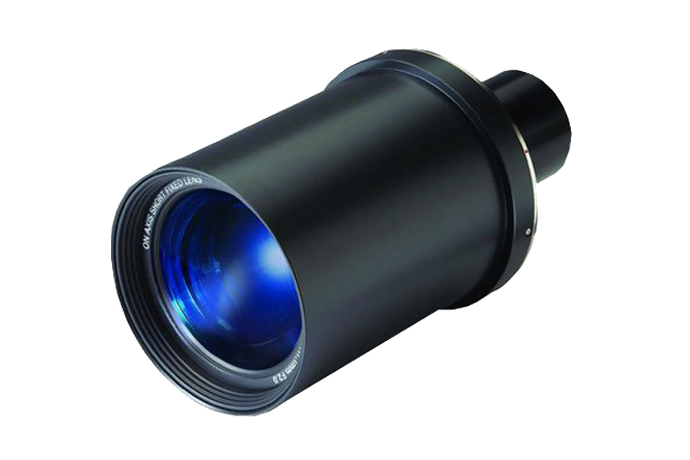 0.8:1/SXGA+0.87:1 Fixed Lens | Christie - Audio Visual Solutions