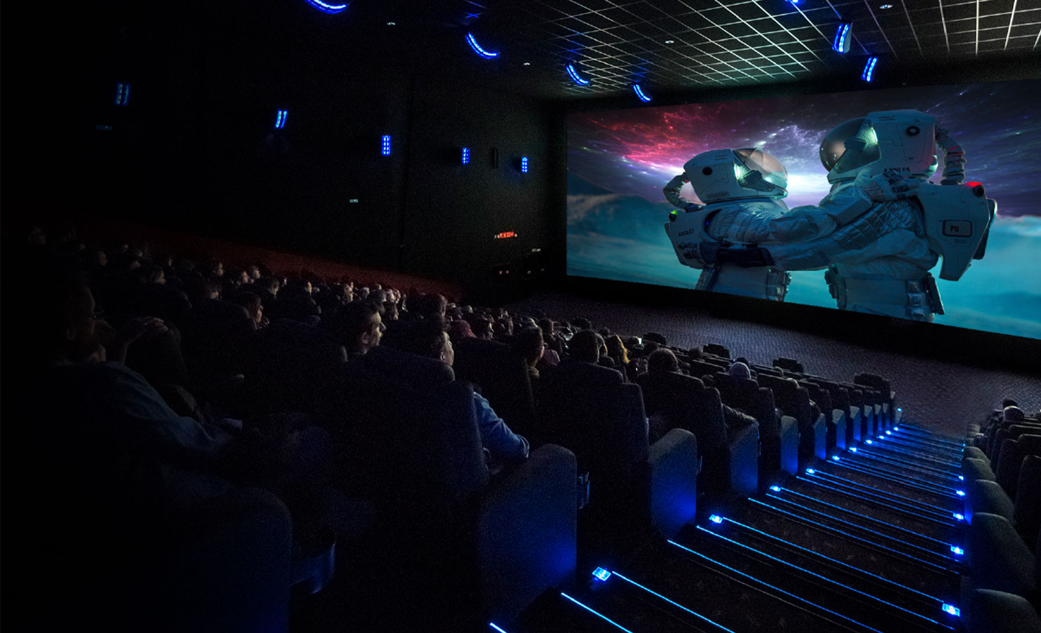 PLF cinema solutions designed for your theater