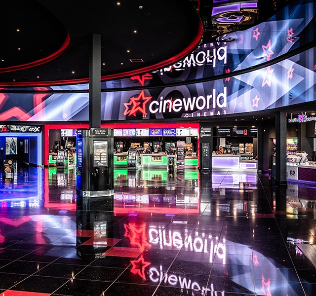 Cineworld to acquire more than 1000 Christie RGB lasers