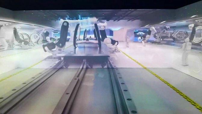 Cidade inteligente adota projetores a laser APS para instalação CAVE