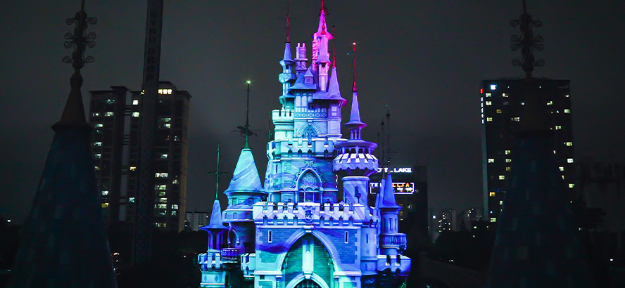 Lotte World 3D mapping