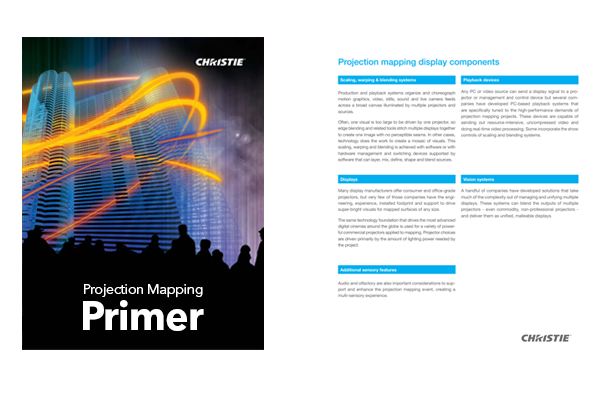 Download our Projection Mapping Primer